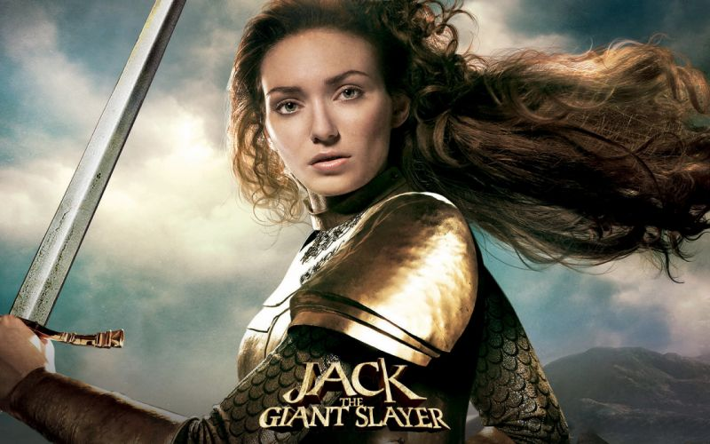 Jack the Giant Slayer Armor Hair Brown haired Glance Movies Girls wallpaper