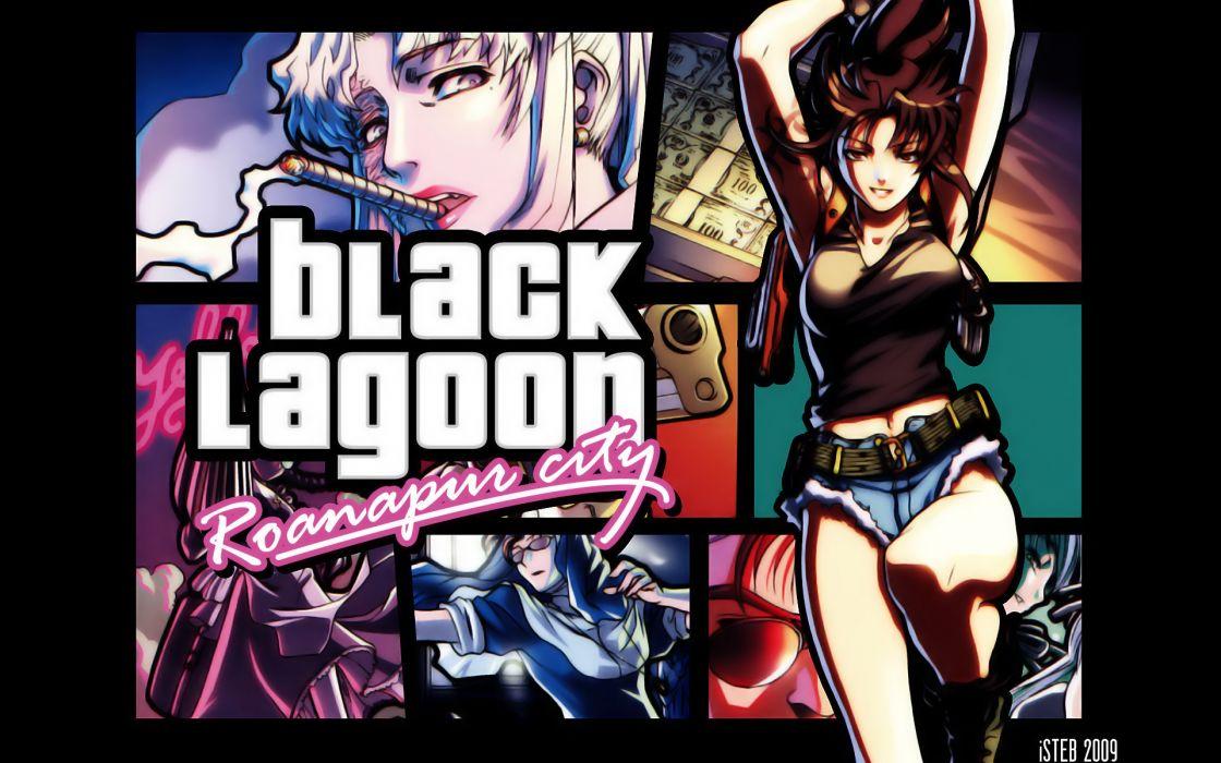 Black Lagoon wallpaper