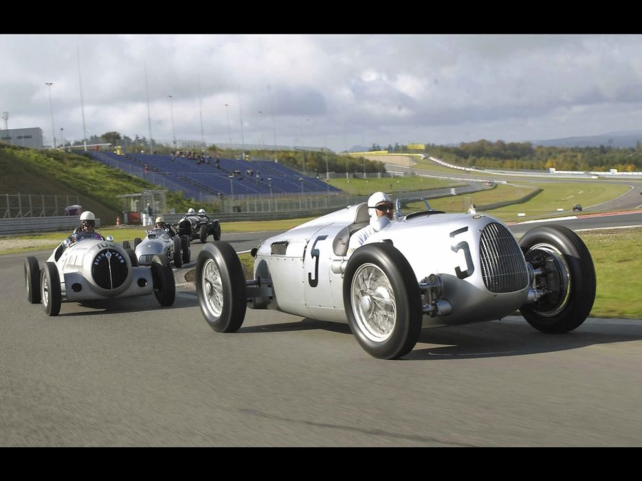 1936 Auto Union Type-C retro classic race cars     e wallpaper