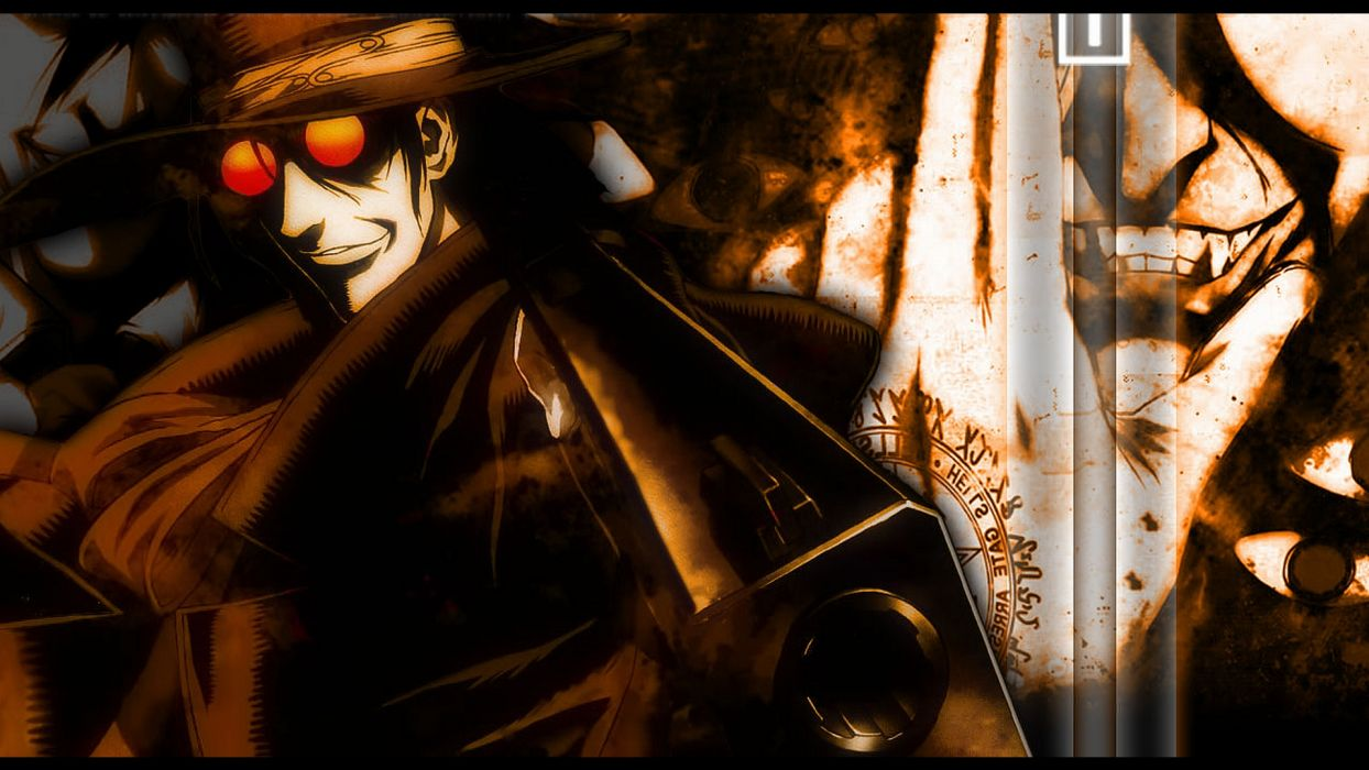Hellsing gothic anime wallpaper