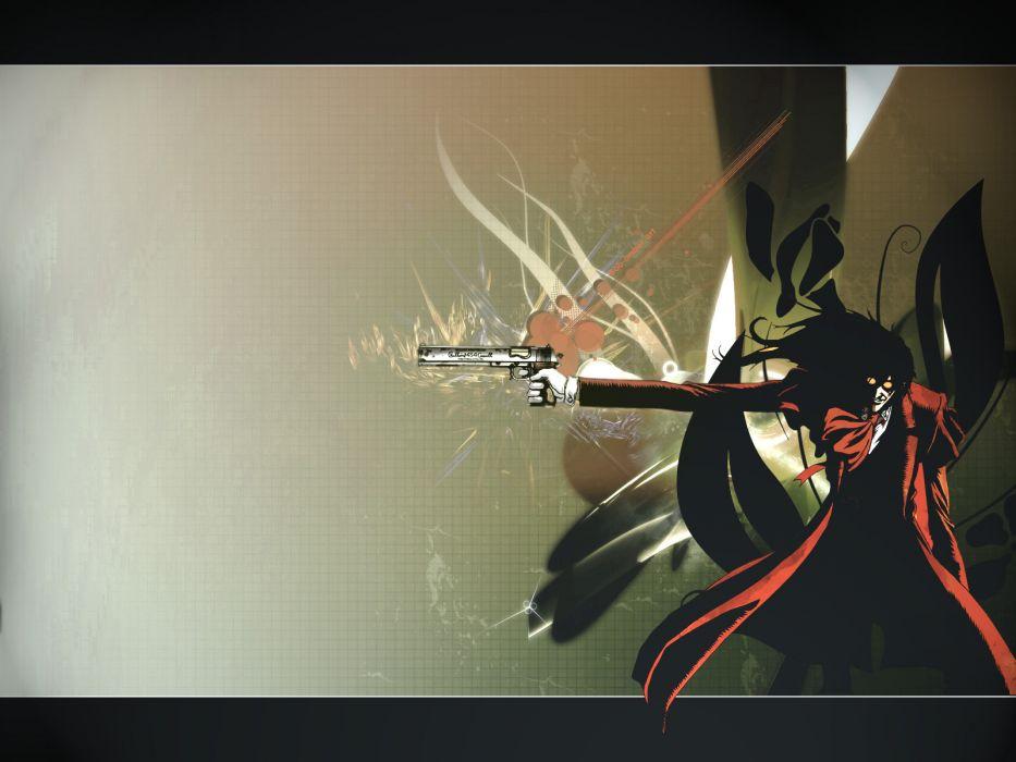 Hellsing gothic anime wallpaper