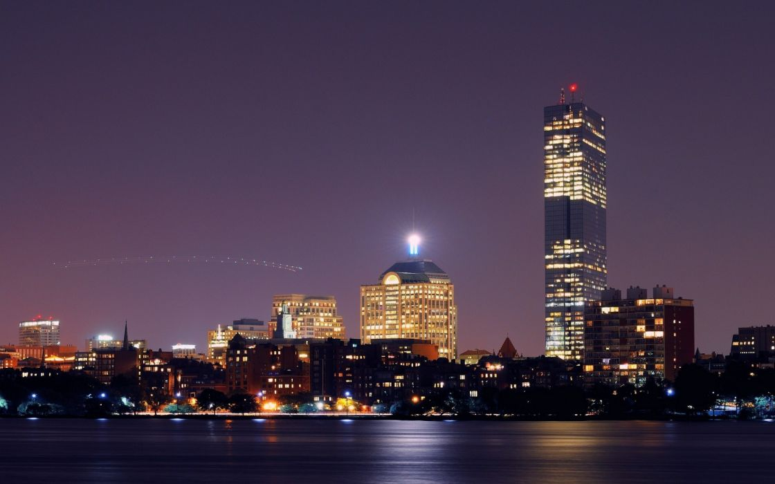 USA  Massachusetts  Boston buildings skyscraper wallpaper