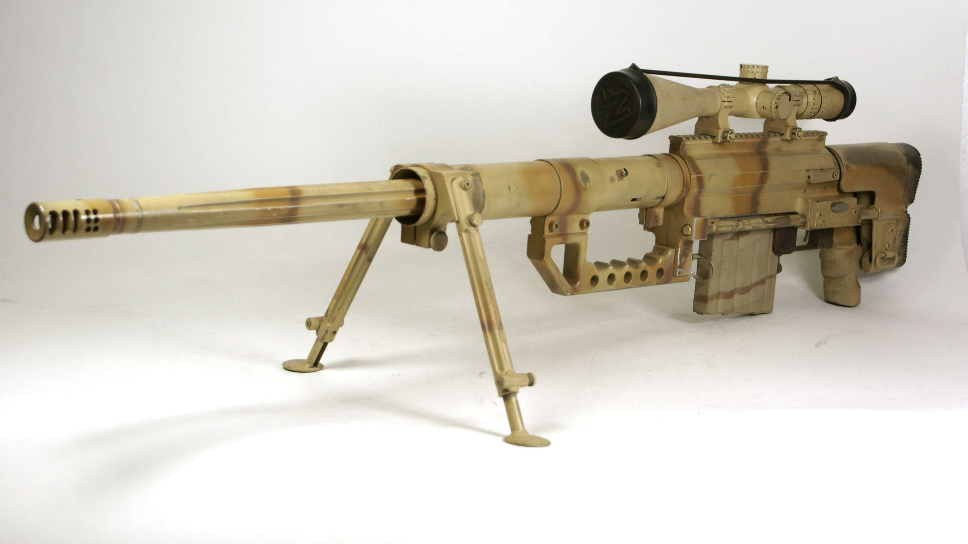 M200 Intervention Sniper Rifle Weapons Guns Military Wallpaper