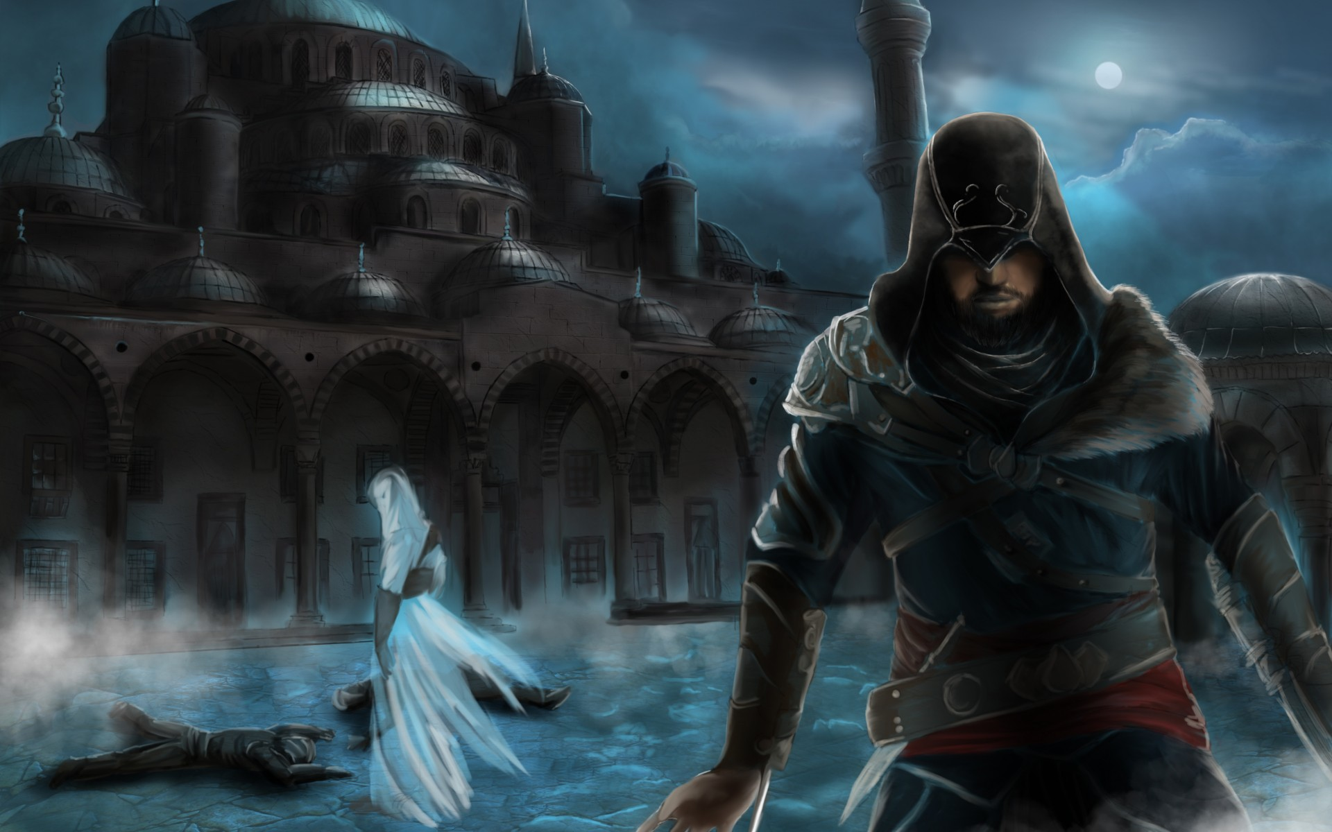 Assassin 039 S Creed Revelations Constantinople Mosque Ezio