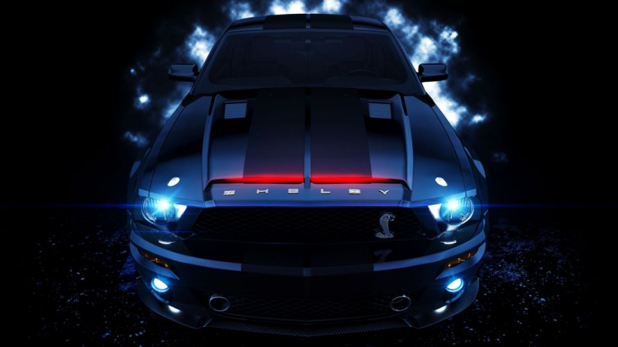 Ford Mustang Shelby Gt muscle cars wallpaper