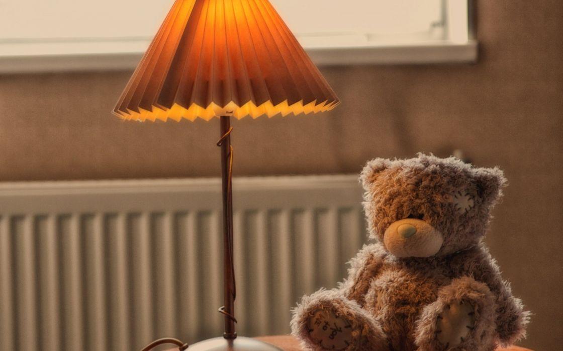 Mood Toys Teddy Bear Lamp Cute Wallpaper