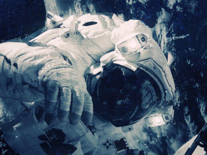 Astronaut NASA space wallpaper