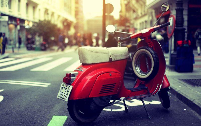 Scooter Vespa bike wallpaper