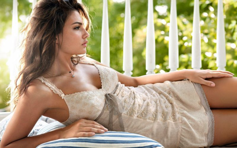 Alyssa Miller women babes brunettes models wallpaper