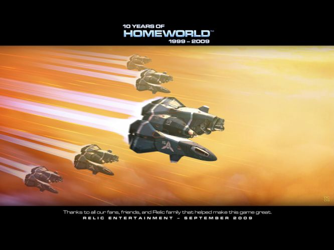 Homeworld Spaceships wallpaper