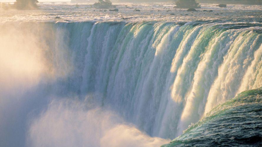 waterfall rivers wallpaper