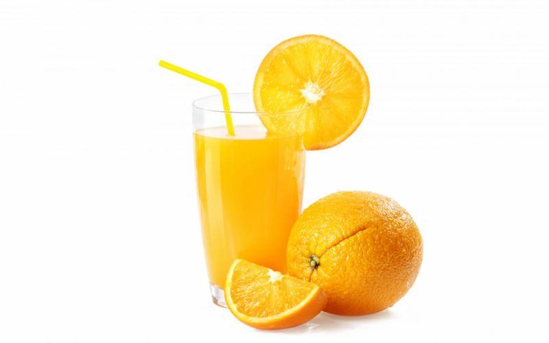 oranges fruit glass wallpaper