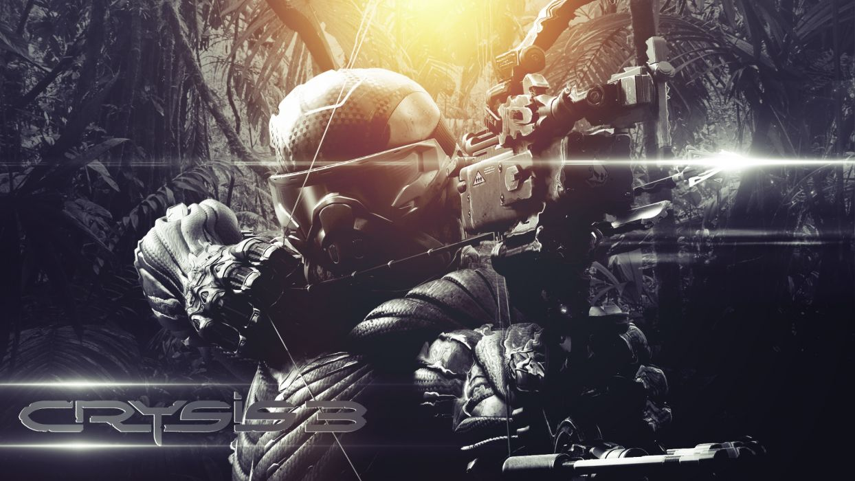 Crysis Bow warrior weapons wallpaper