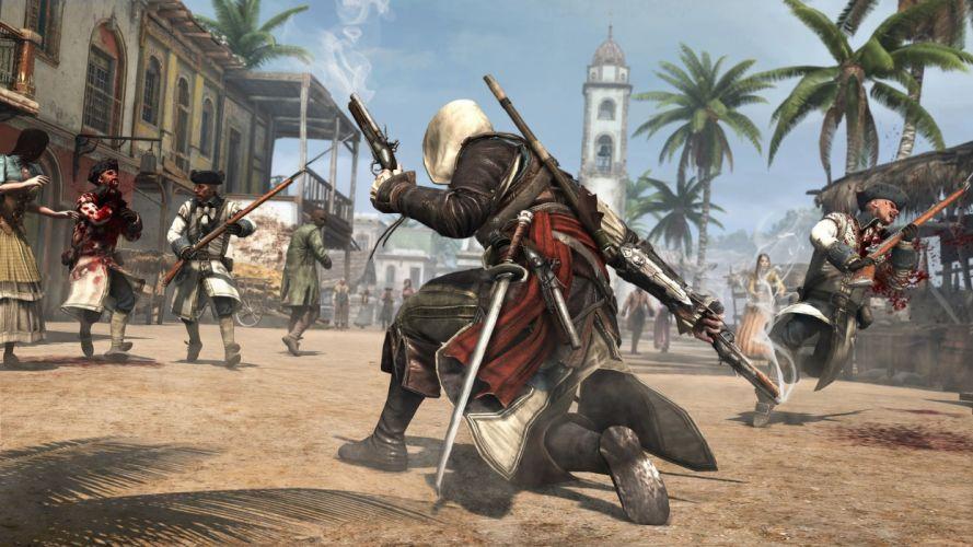 Assassin's Creed Black Flag Pirate wallpaper