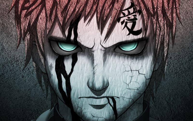 original anime dark boy face eyes wallpaper