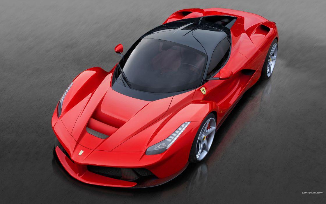 Ferrari LaFerrari supercars wallpaper