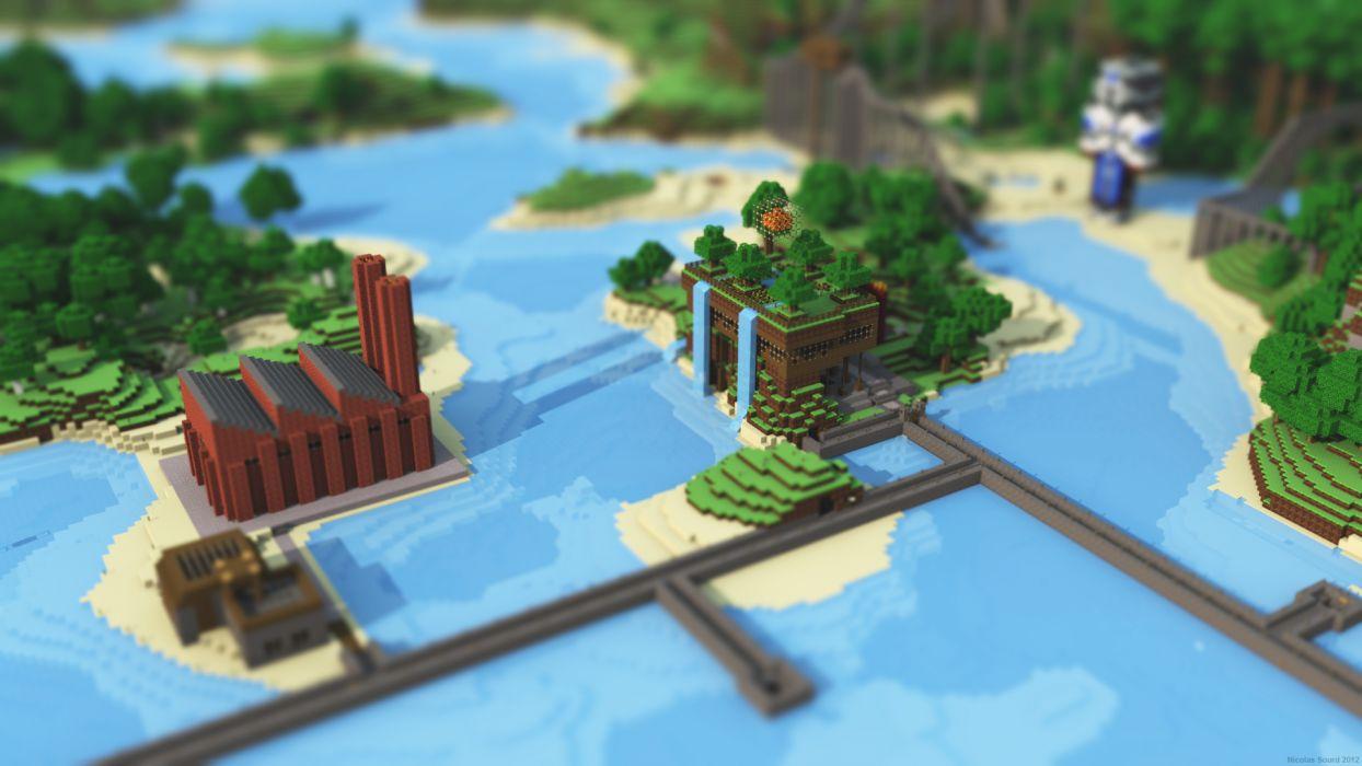 Minecraft        e wallpaper