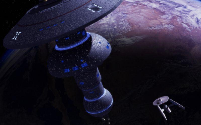 Star Trek television movies sci-fi spaceship r wallpaper