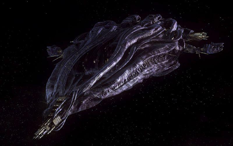 Stargate Atlantis television spaceship craft sci-fi wallpaper