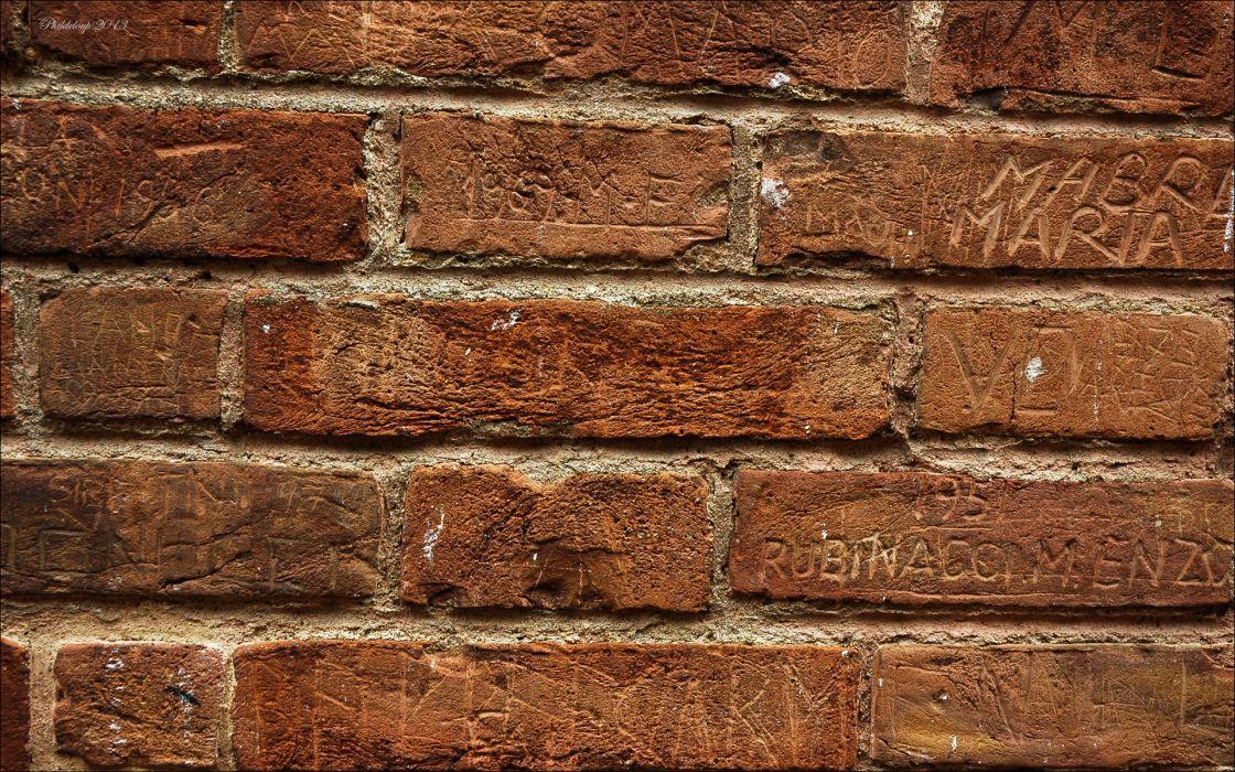 abstract pattern brick wall wallpaper
