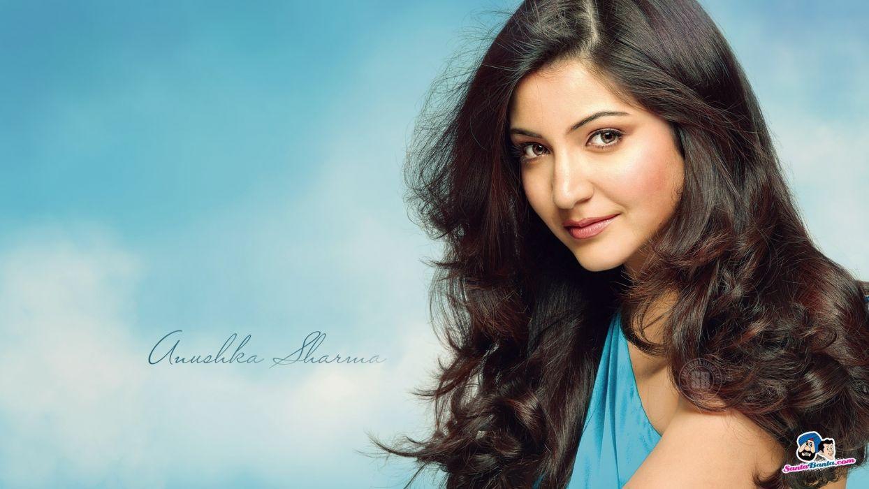Anushka Sharma women females girls sexy babes face wallpaper