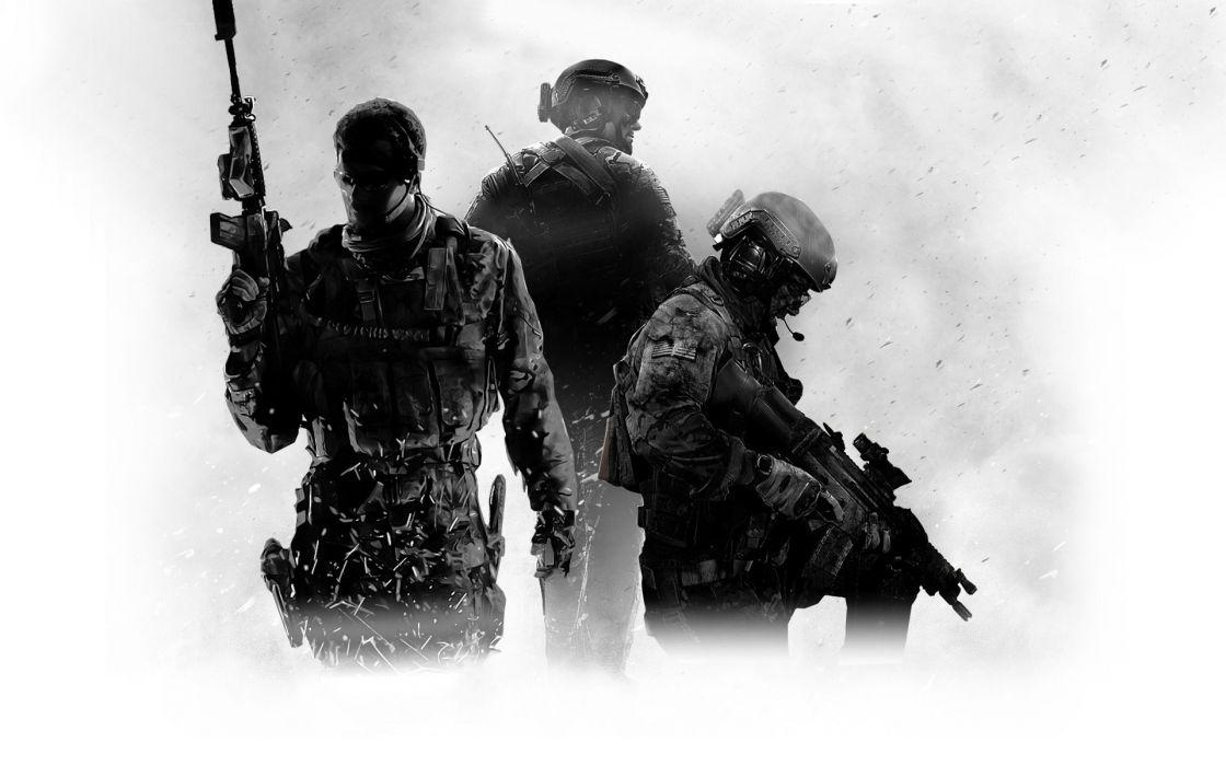 Call Of Duty Modern Warfare 3 Soldiers Guns Wallpaper