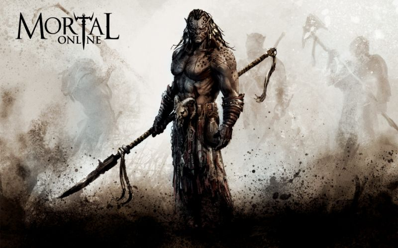 Mortal Online warrior wallpaper
