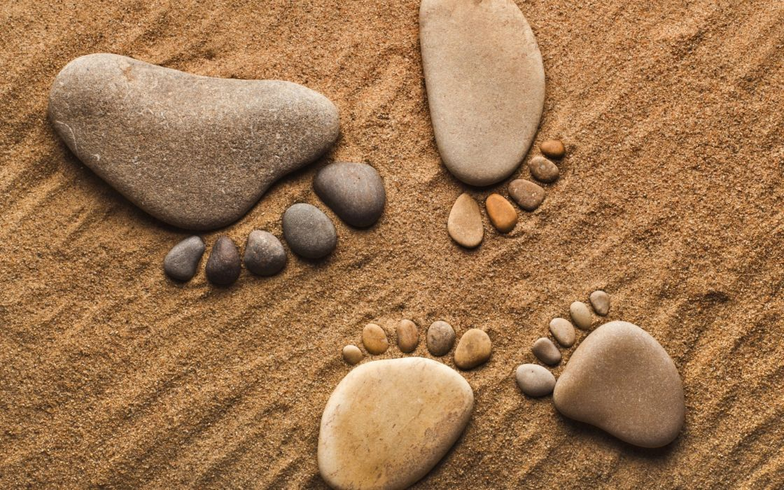 rocks  stones  pebbles  feet  legs  feet  sand hang ten bokek mood zen wallpaper