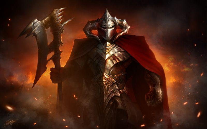 warrior weapons knight wallpaper