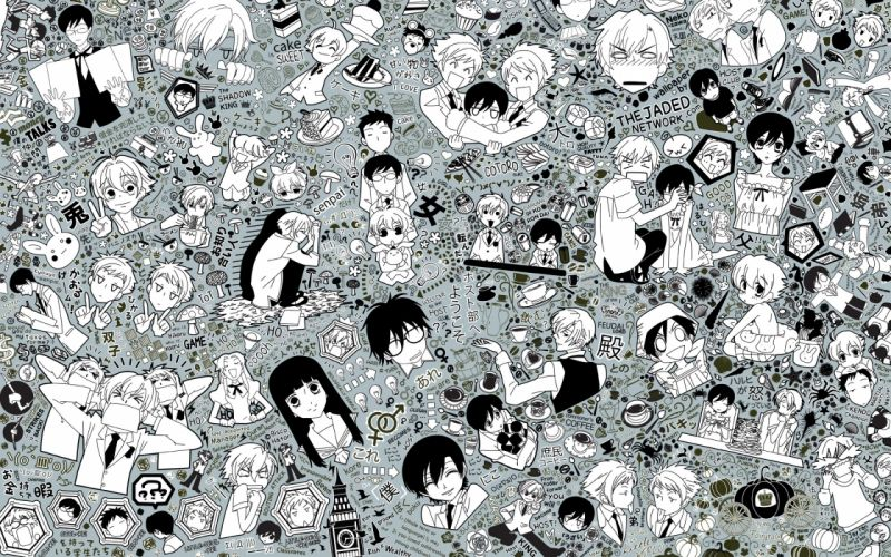 ouran high school host club wallpaper