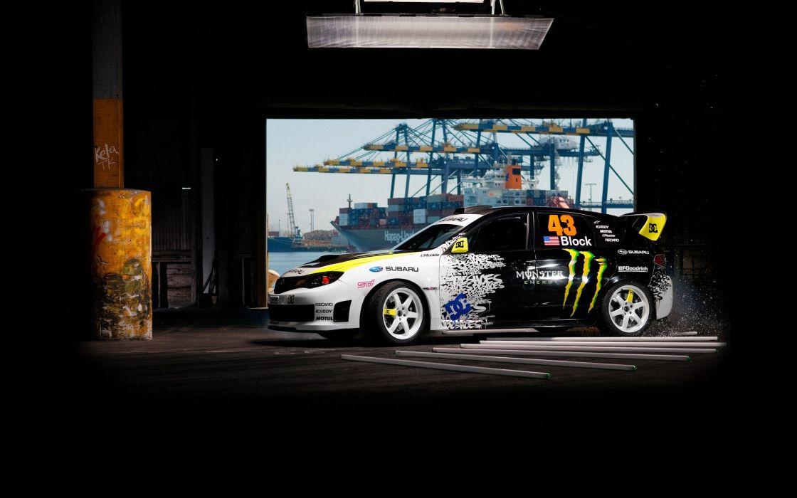 Subaru  Impreza  WRX  STi tuning race wallpaper