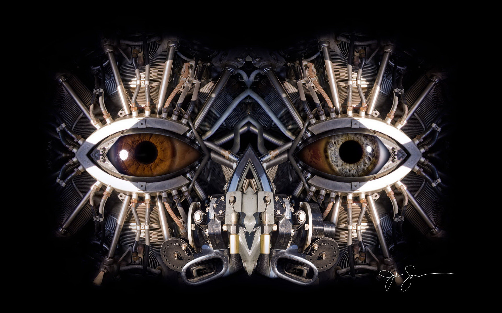wallpapers steampunk girl eyes - photo #35