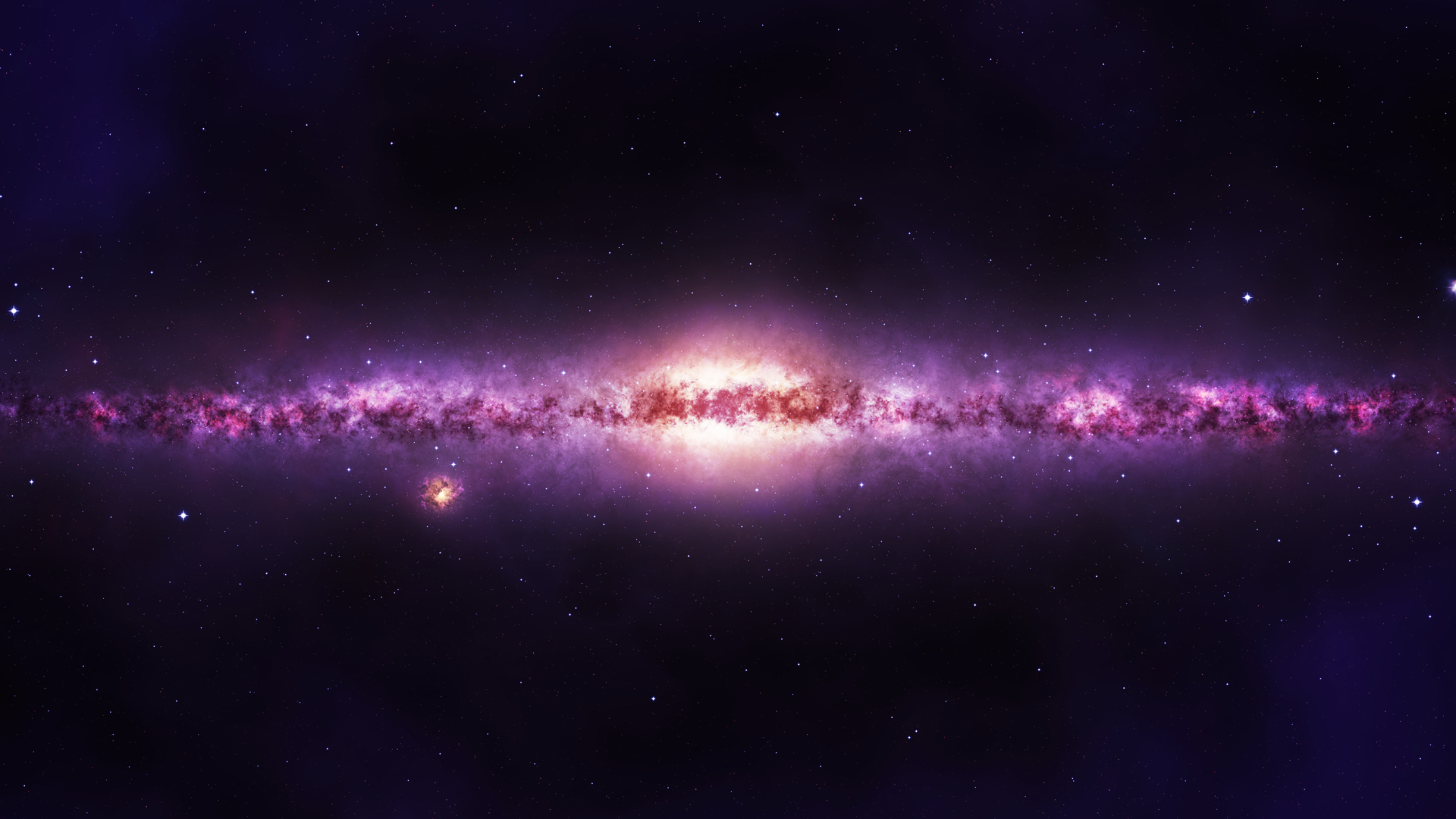 Purple Star Galaxy - Pics about space