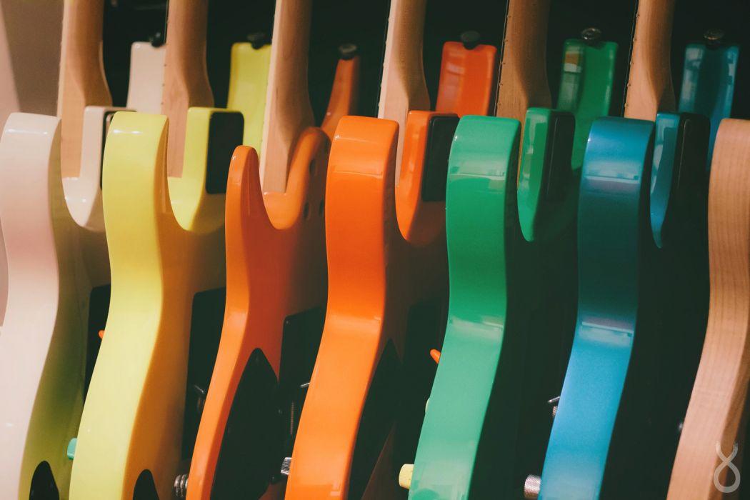 Guitars Warm wallpaper