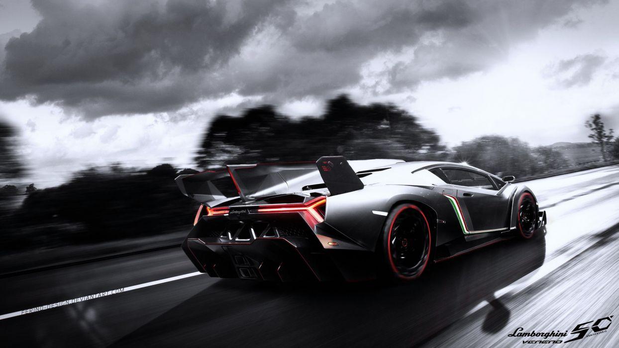 Lamborghini Veneno Wallpaper 1920x1080 50385 Wallpaperup