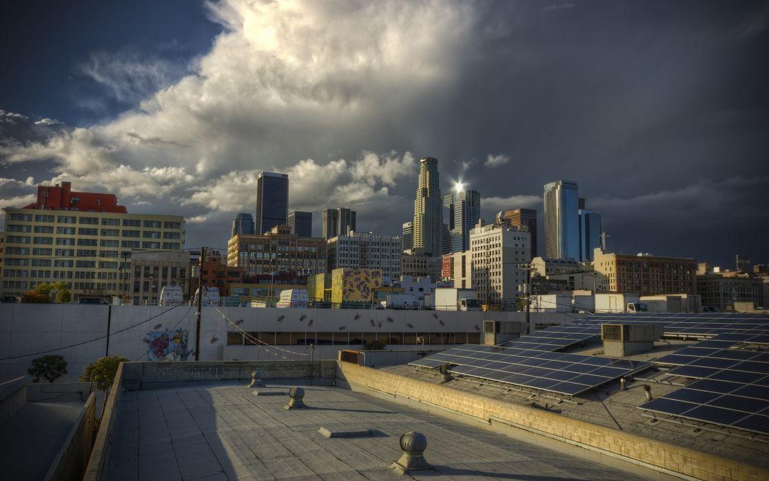 Los Angeles LA Buildings Skyscrapers      r wallpaper
