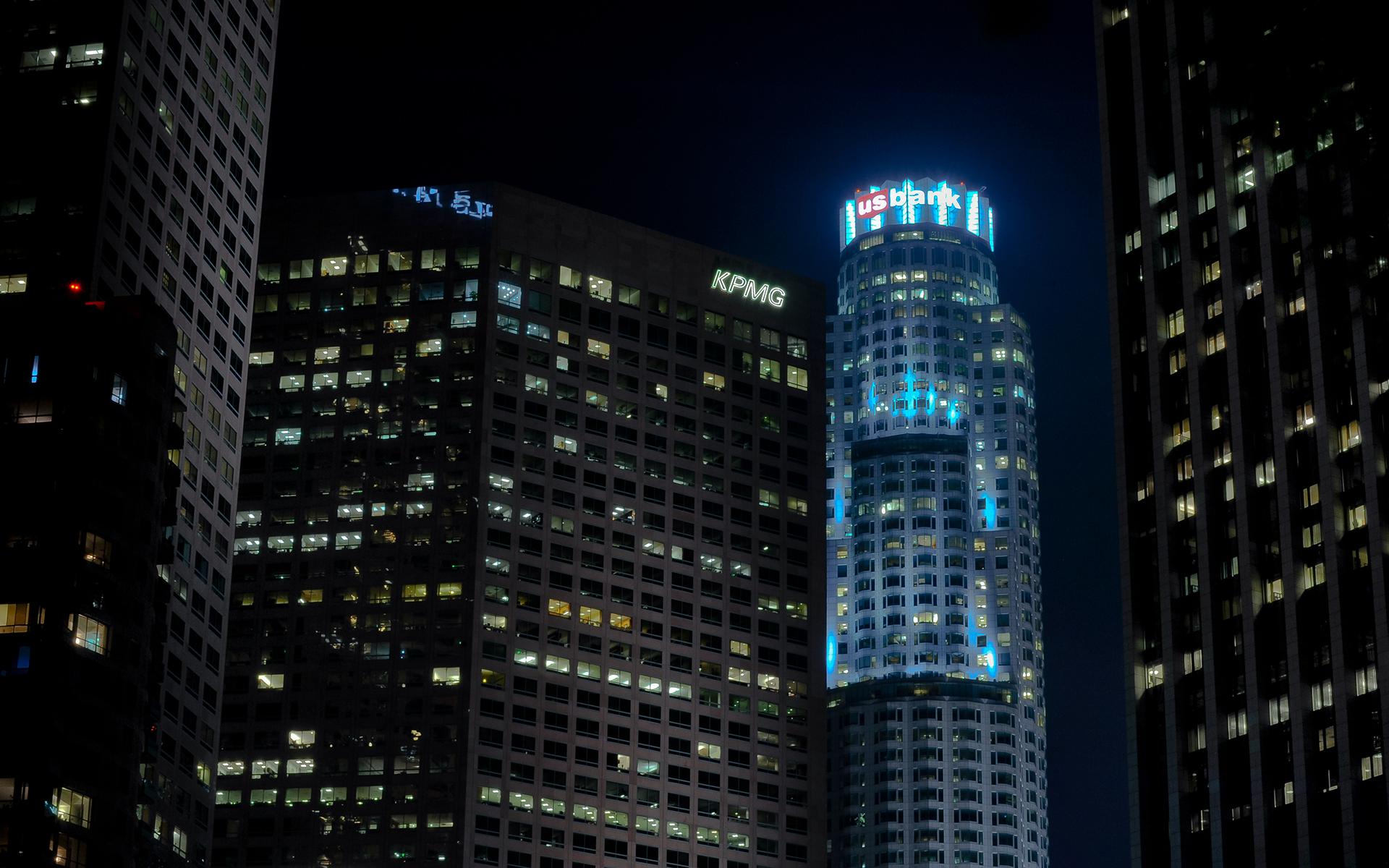 los angeles skyscrapers desktop wallpaper - photo #21