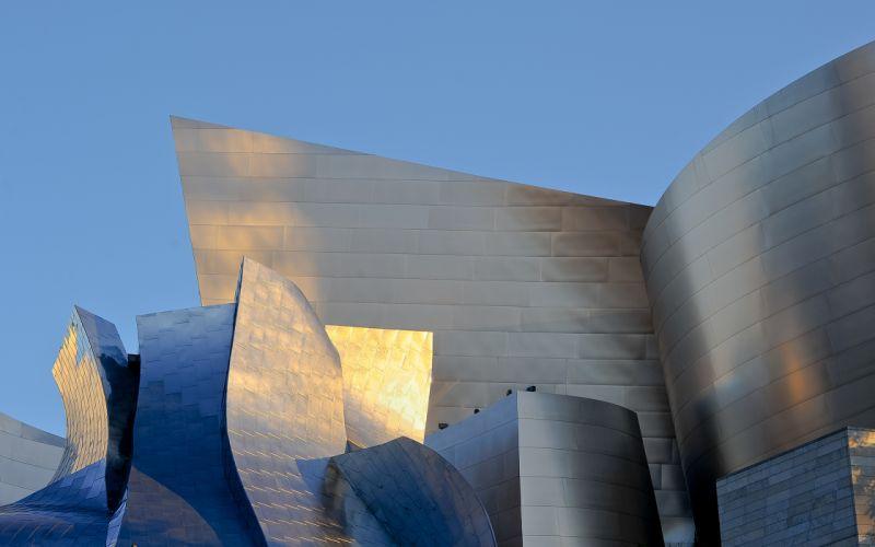 Walt Disney Concert Hall Street LA Los Angeles wallpaper