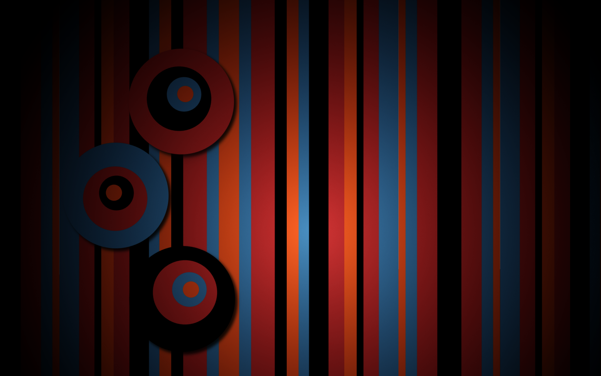Stripes Circle Abstract Texture Pattern Wallpaper