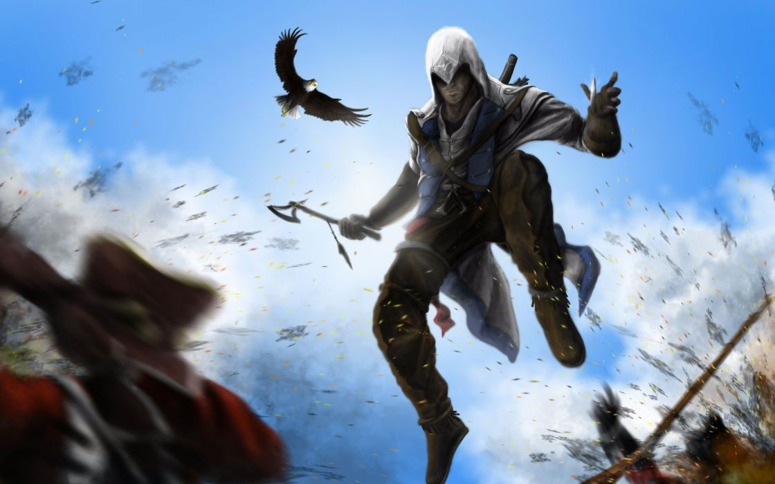 assassin's creed 3  Connor kenuey wallpaper