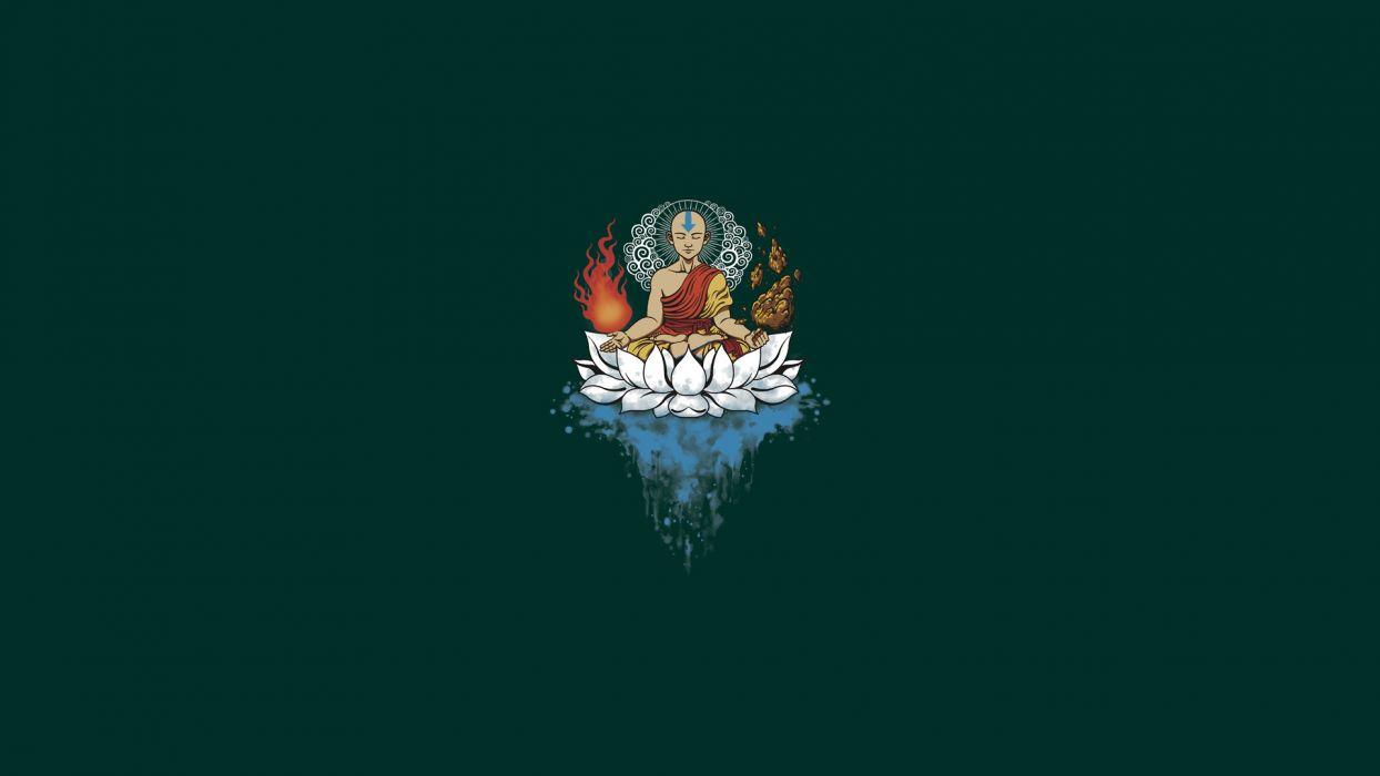 Avatar The Last Airbender Meditate Moopd Wallpaper