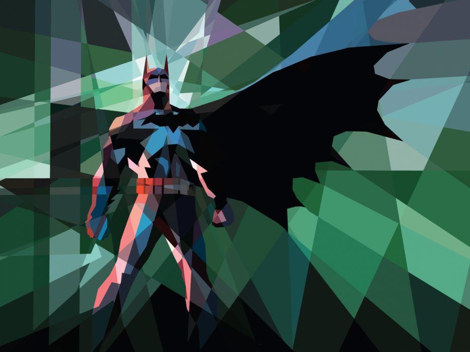 Batman Polygon Art wallpaper