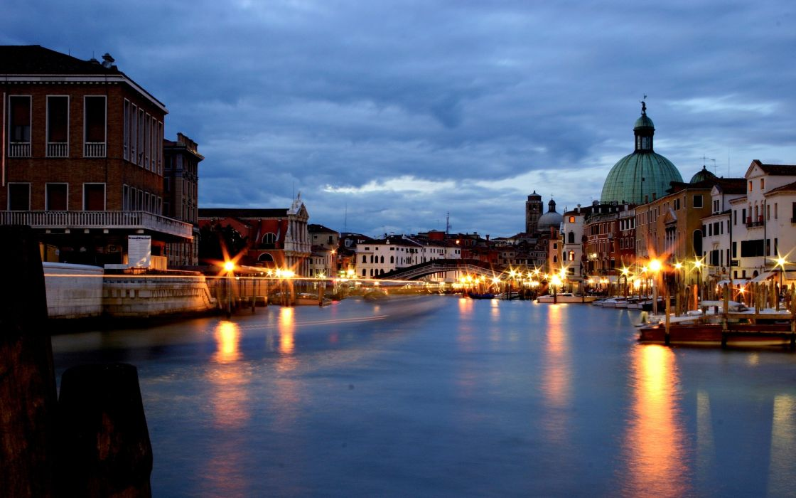 bridge canal grande Venice Grand Canal italy buildings wallpaper