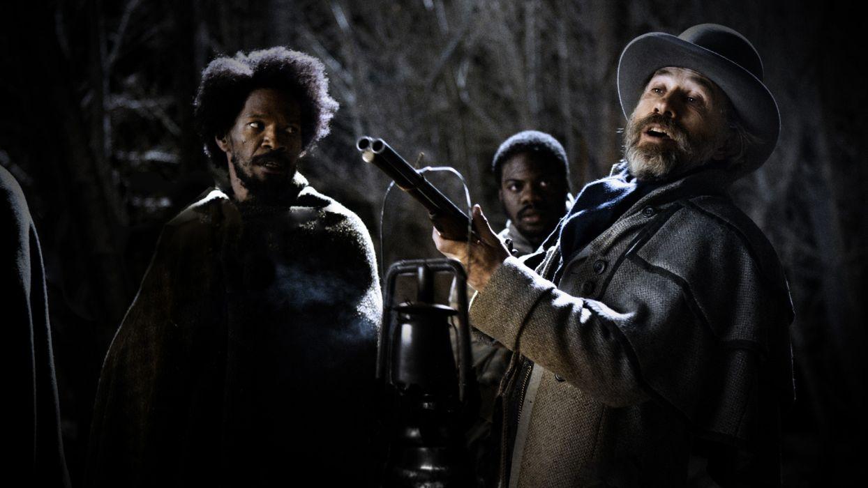 Django Unchained Dr_ King Schultz Christoph Waltz Jamie Foxx western wallpaper