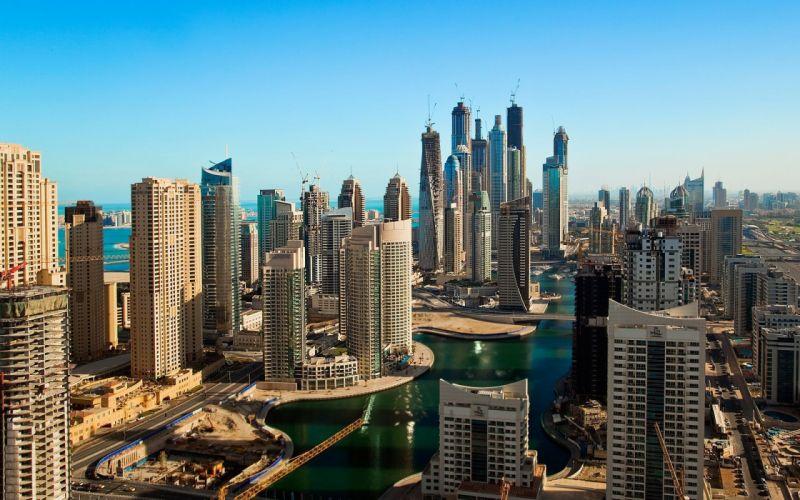 Dubai Buildings Skyscrapers wallpaper