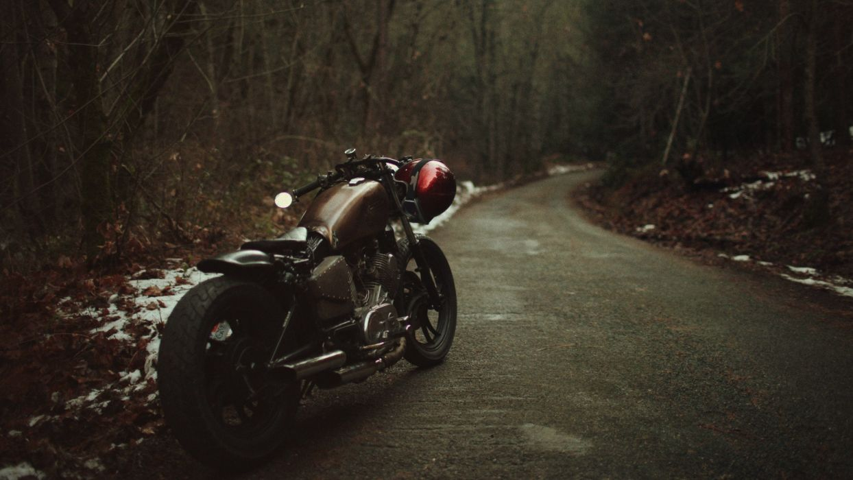 harley motorcycle road wallpaper | 1920x1080 | 50647 | wallpaperup