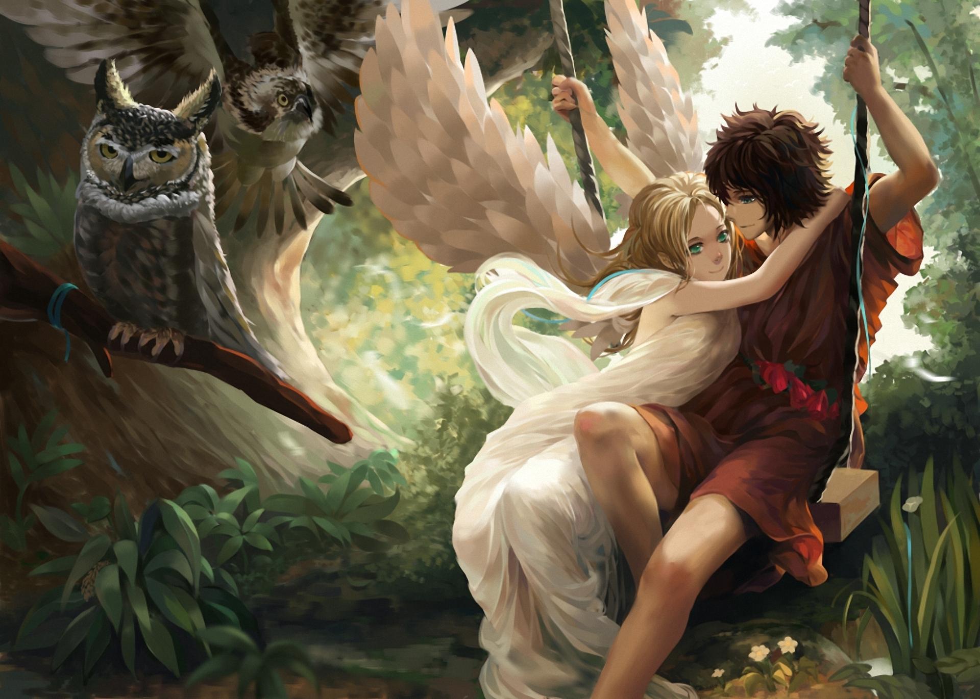 love angels guys fantasy girls wallpaper | 1920x1371 | 50675