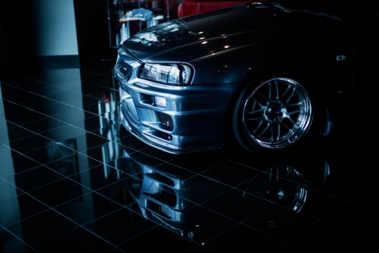 Nissan Skyline GTR tuning wallpaper