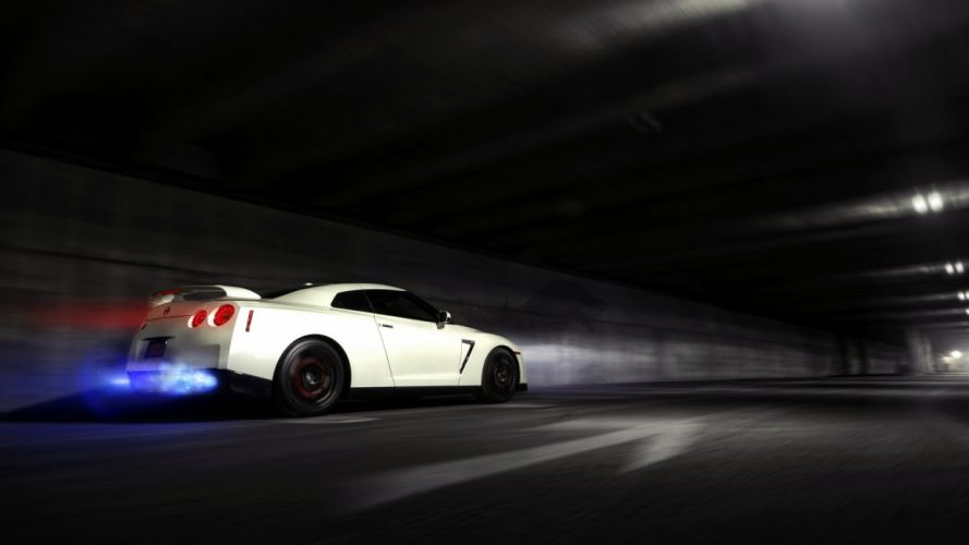 Nissan Skyline Gtr Backfire Flame Wallpaper 1920x1080