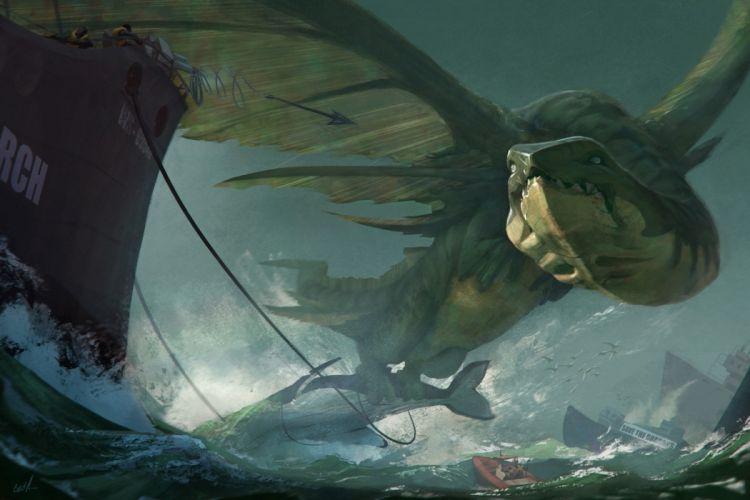 Monsters Fantasy wallpaper